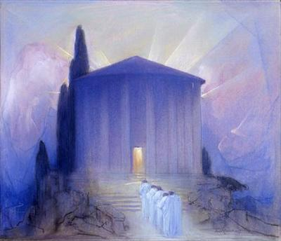 The Temple of Peace by Baron Arild Rosenkrantz